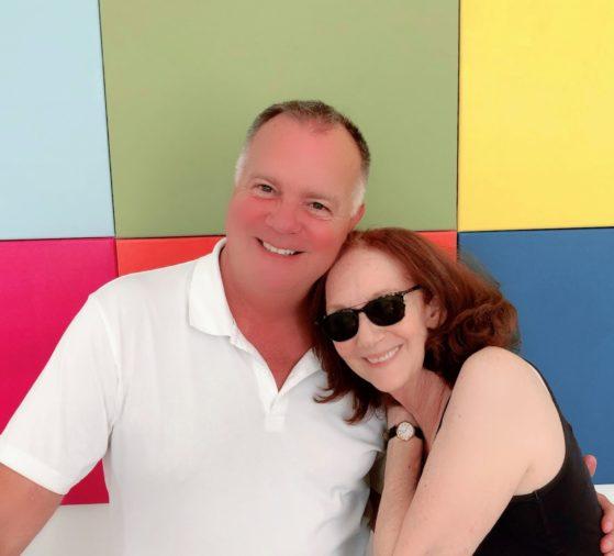 Craig Urquhart and Victoria Looseleaf in Berlin.