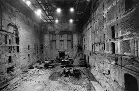 Interior after World War 2